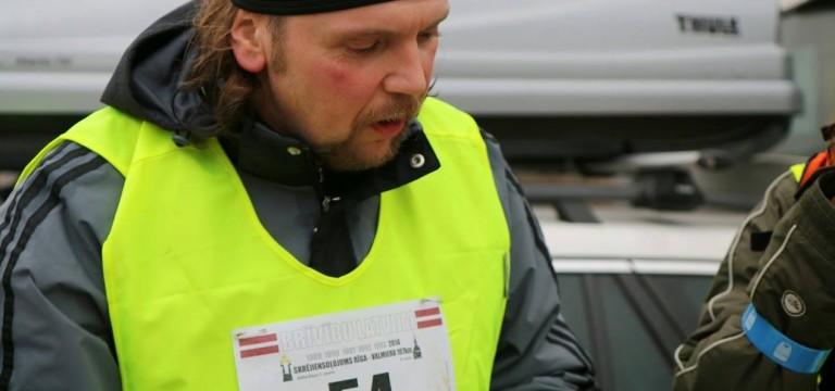 Skrējiensoļojuma Rīga-Valmiera numurs